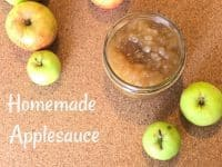 Windfall Homemade Applesauce - easy to make and super tasty....