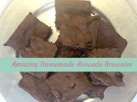 Yummy Avocado Brownies....