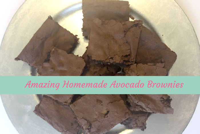Homemade Avocado Brownies