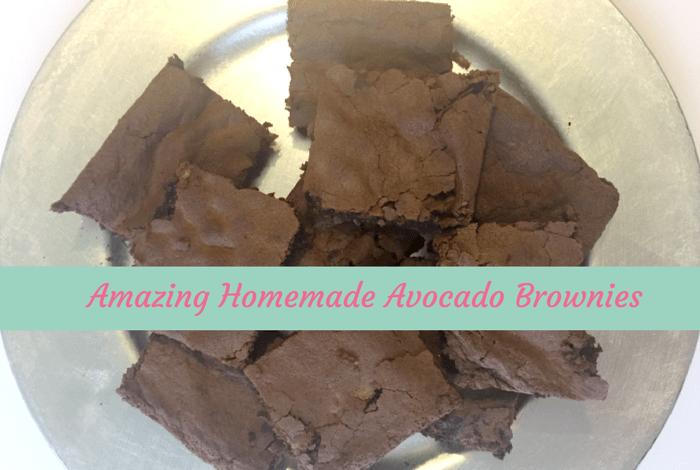 Homemade Avocado Brownies