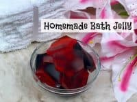 Homemade Bath Jelly....