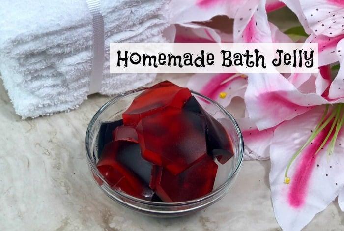 Homemade Bath Jelly