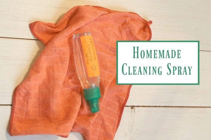 Homemade cleaning spray….