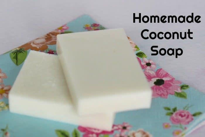 Homemade Coconut Soap