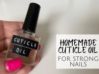 Homemade Cuticle Oil...