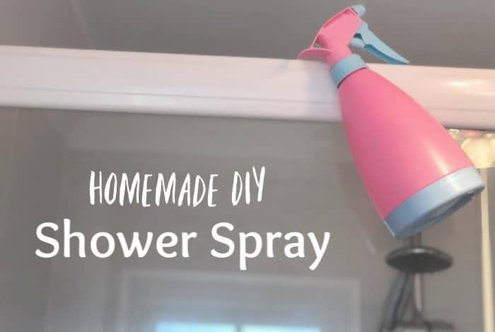 Homemade DIY Shower Spray