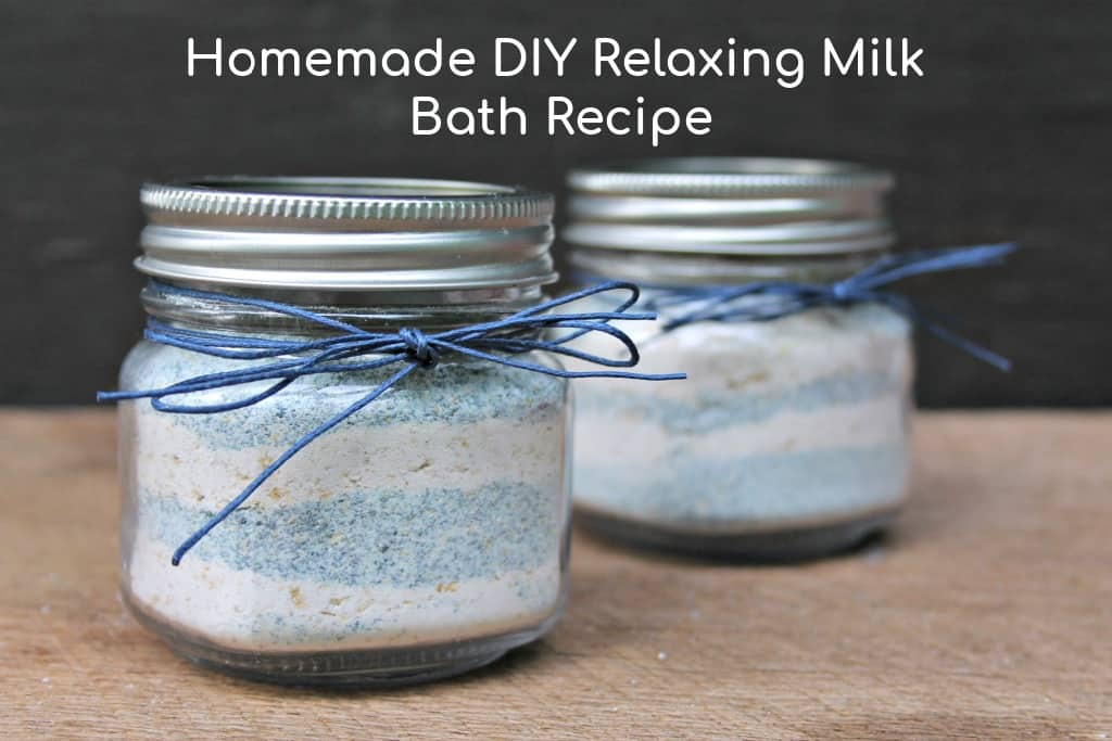 Relaxing DIY Milk Bath Recipe
