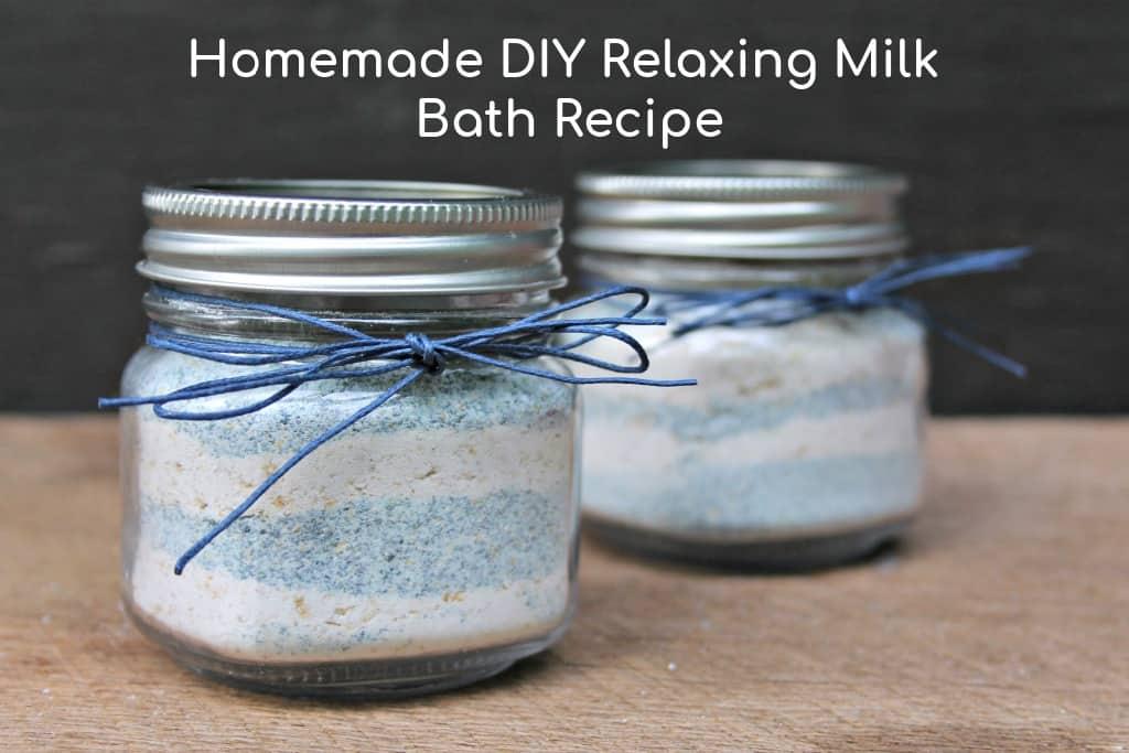 Relaxing DIY Milk Bath Recipe
