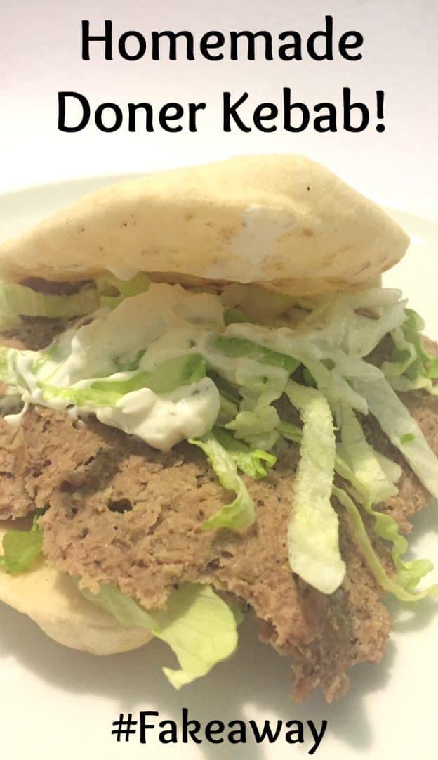 Homemade Doner Kebab #fakeaway #SlimmingWorld