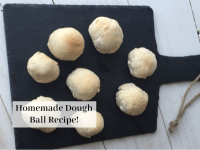 Homemade dough balls - easy and delicious....