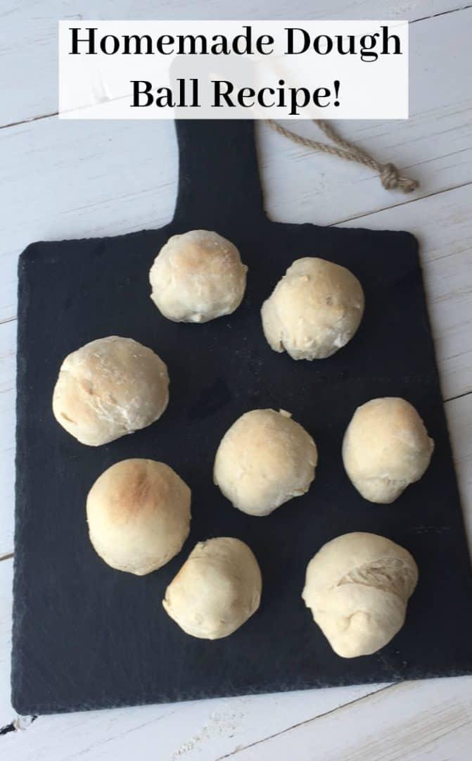 homemade dough balls
