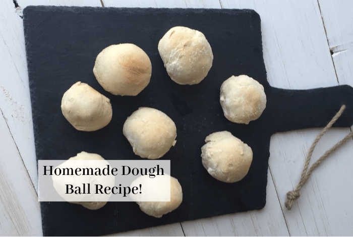 Homemade dough balls – easy and delicious….
