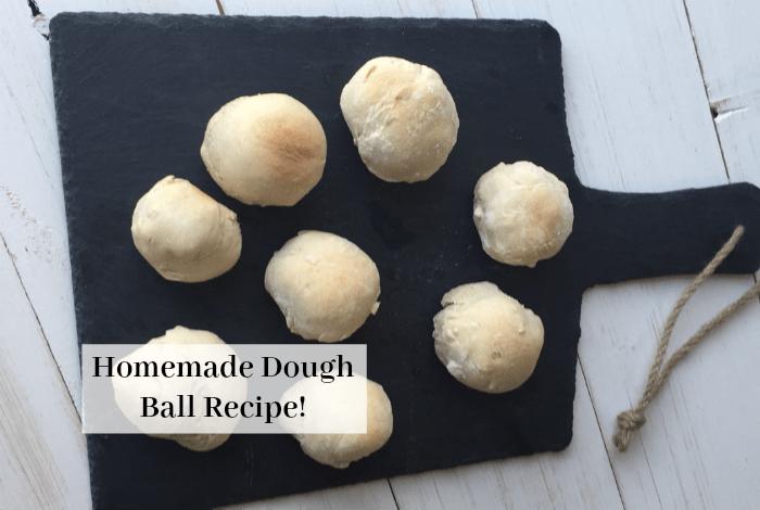 Homemade dough balls – easy and delicious….