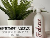 Homemade Febreze for under 20p a bottle....