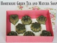 Homemade Green Tea and Matcha Soap...