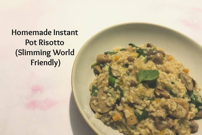 Homemade Instant Pot Risotto (Slimming World Friendly)
