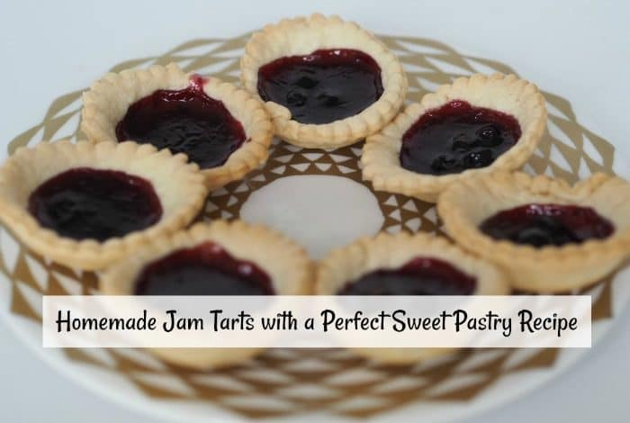 Homemade Jam Tarts with a Perfect Sweet Pastry Recipe