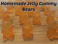 Quick and Easy Jelly Gummy Bears....