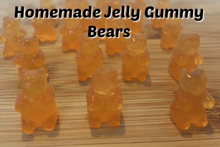 Homemade Jelly Gummy Bears