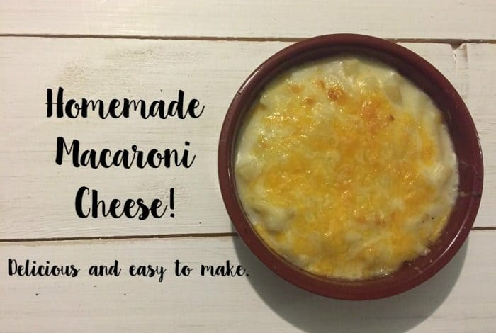 Homemade Macaroni Cheese!