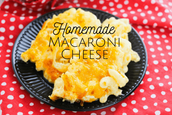 Homemade Macaroni Cheese