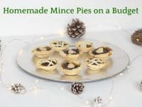 Festive homemade Mince Pies on a budget....
