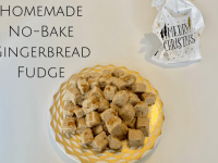 No Bake Gingerbread Fudge Recipe....