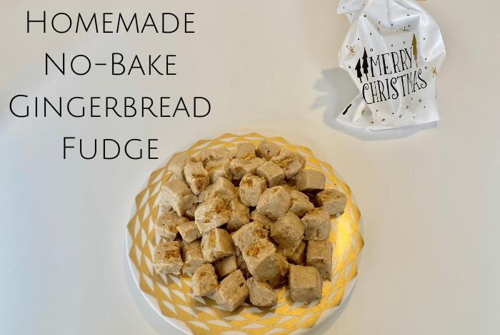 no bake Gingerbread Fudge