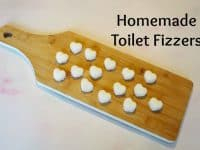 Homemade Toilet Fizzers - the most fun you'll have cleaning your toilet....