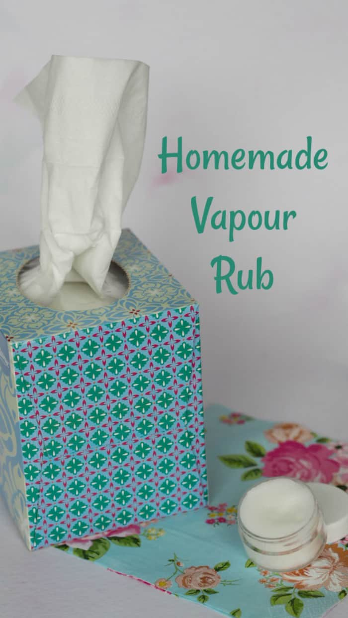 Homemade Vapour Rub.