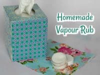 Soothing Homemade Vapour Rub....