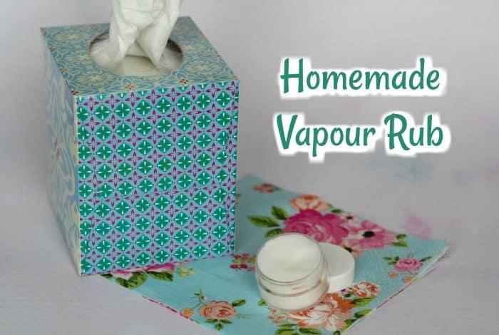 Homemade Vapour Rub
