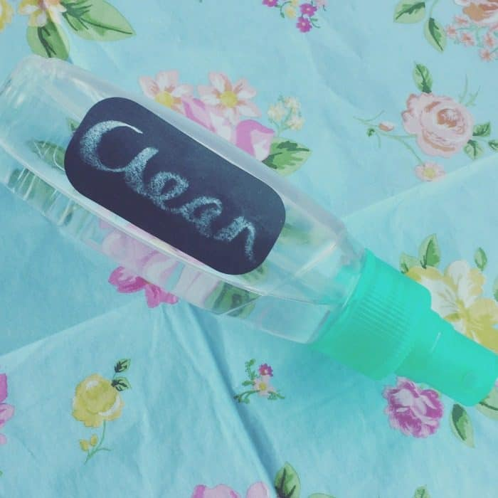 Homemade cleaning spray