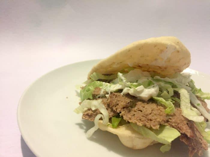 Homemade doner kebab recipe