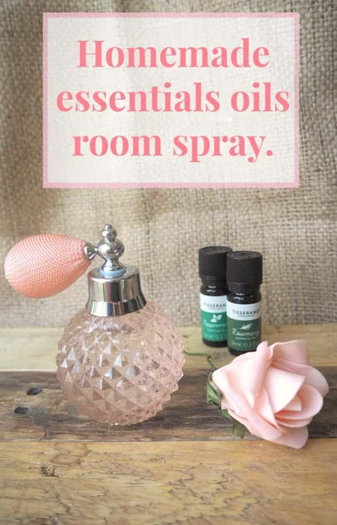 Homemade essential oils room spray....