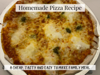 Homemade Pizza Recipe....