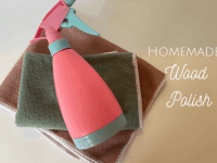 Homemade Wood Polish to make your home shine....