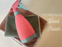 Homemade Wood Polish to make your home shine....