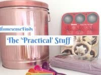 I want to share my Practical #HomesenseFinds with you....