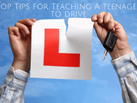 10 tips for teaching a teenager to drive...