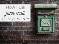 Could your junk mail save you money?