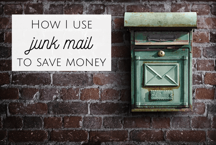 How I use Junk Mail to save Money!