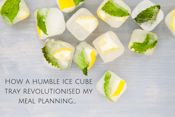 How a humble ice cube tray revolutionised my meal planning....