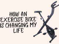 How an exercise bike is changing my life....