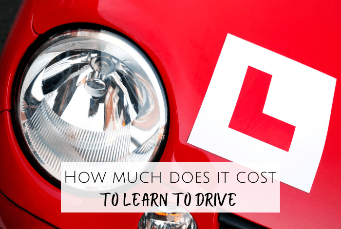 How much does it cost to learn to drive