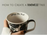 How to create a Kindness Tree....