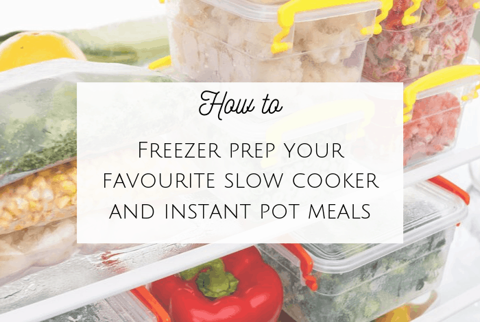 How to freezer prep
