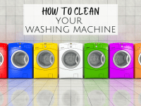 How to clean your washing machine....