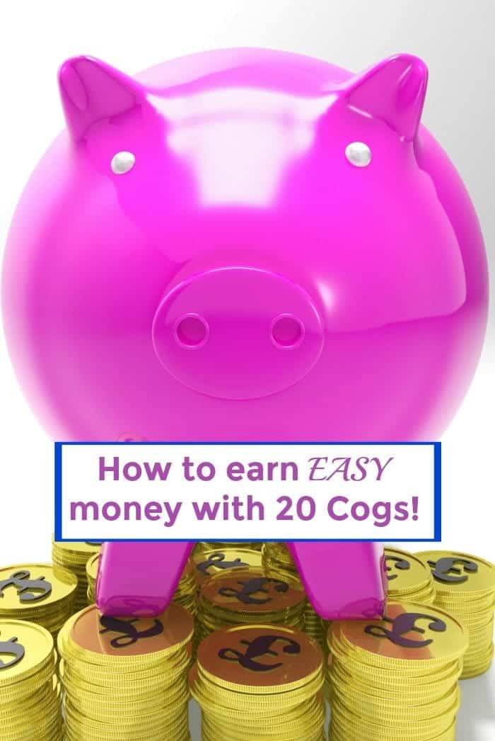 How to earn some easy money in time for Christmas with 20 cogs!