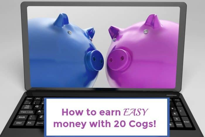 How to earn EASY money with 20 Cogs!